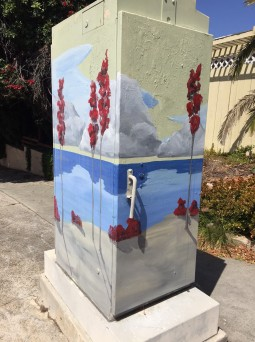 Guess where this Painted by Joe utility box is located?